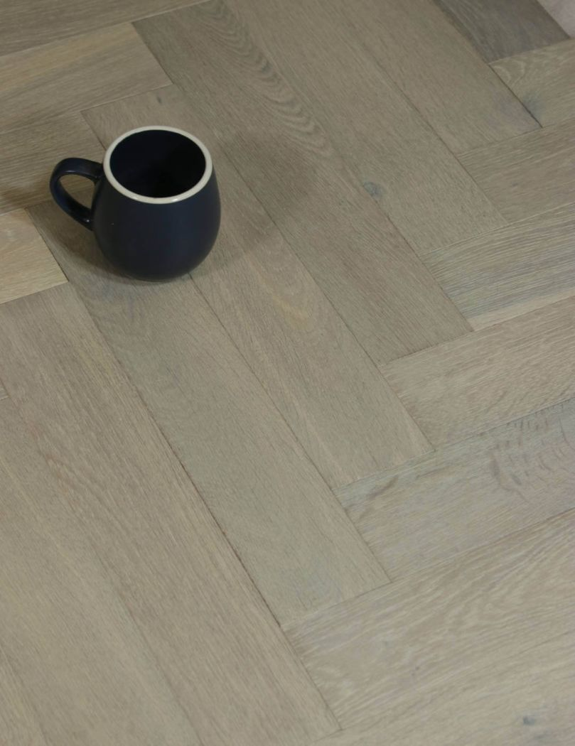 Grey Herringbone Flooring, Jasper