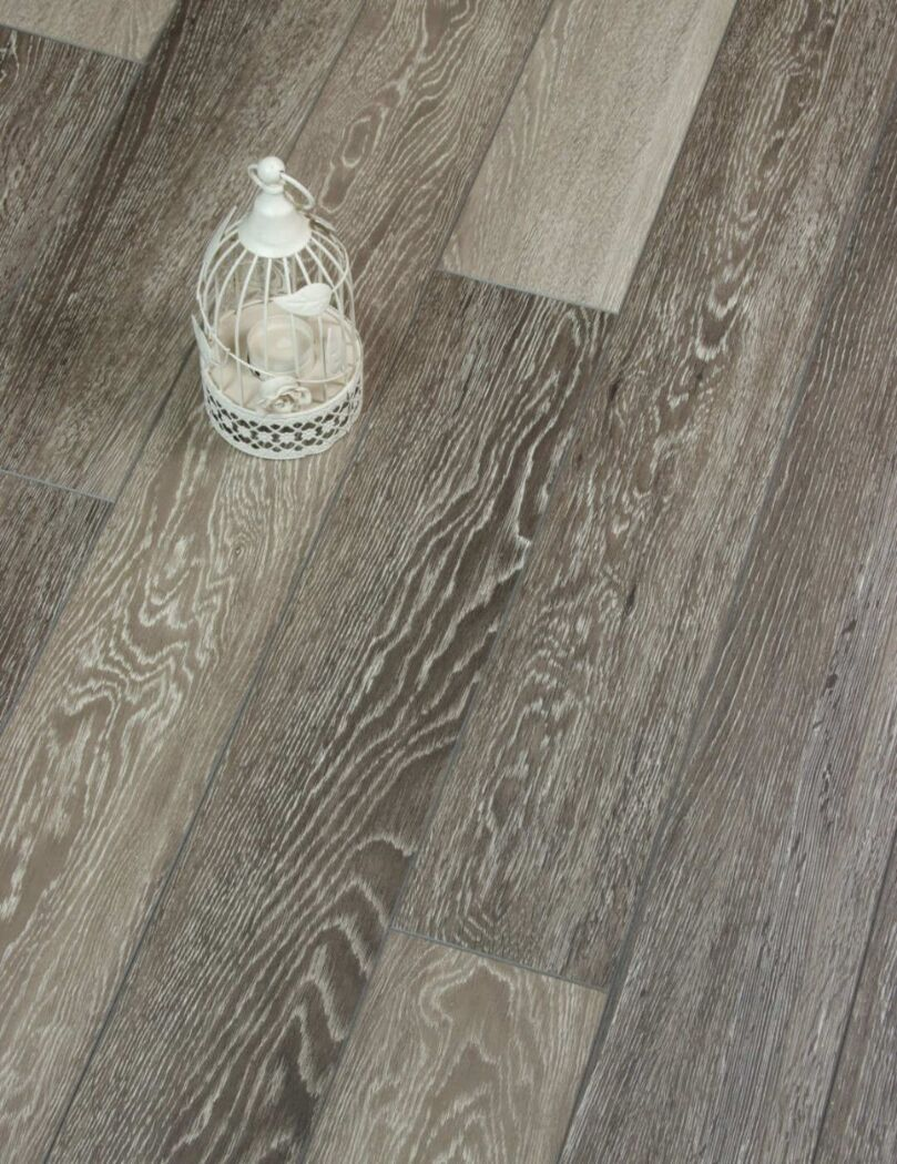 Stark Greige Grey-brown laminate flooring