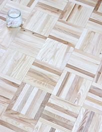 Dekko Ash Parquet Tile - Unfinished