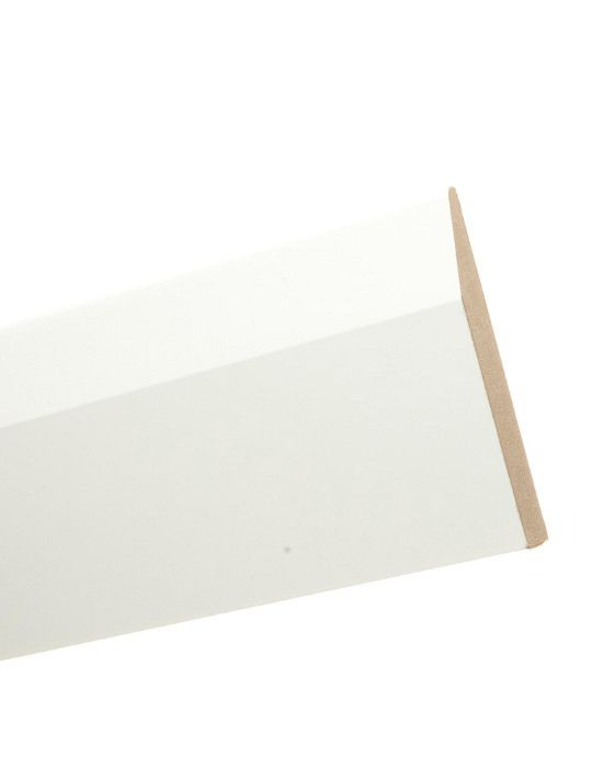 White MDF Skirting 120mm