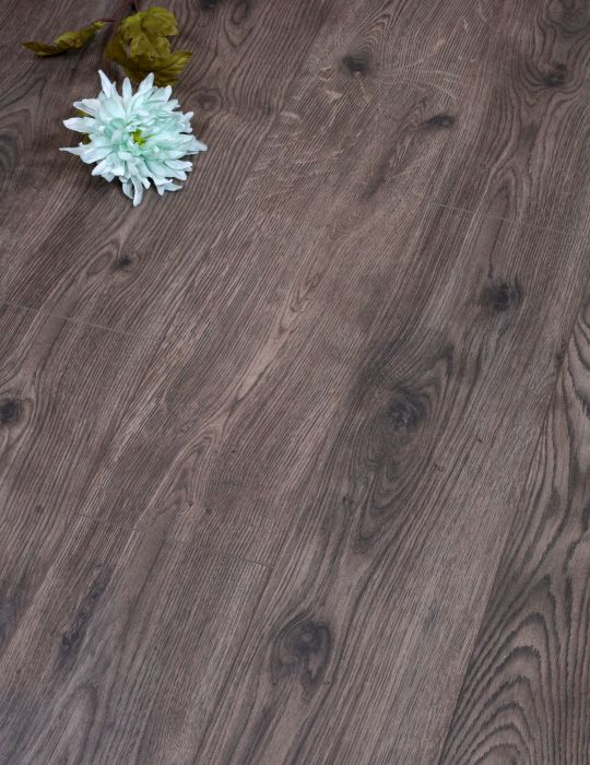 8mm Grey Brown Laminate Flooring