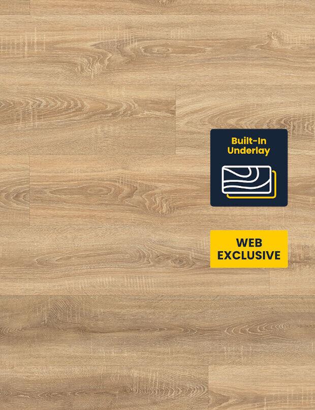 EHD001 Oak rough-cut brown LVT flooring