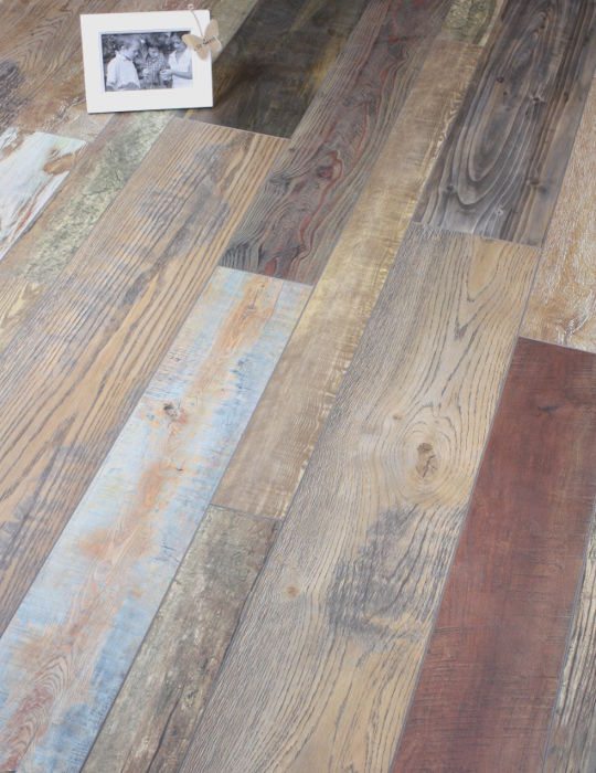 Very Rustic Laminate floor
