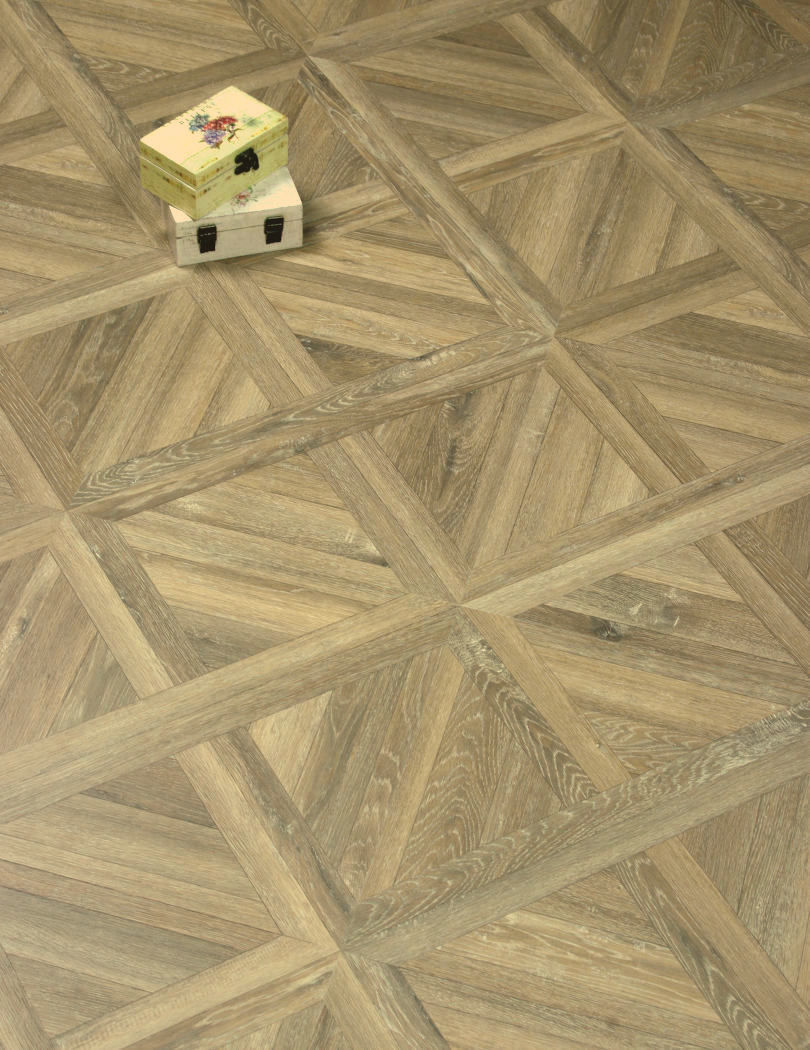 Faus Normandie Brown Parquet Flooring
