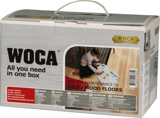 Woca Maintenance Kit White Oiled Flooring