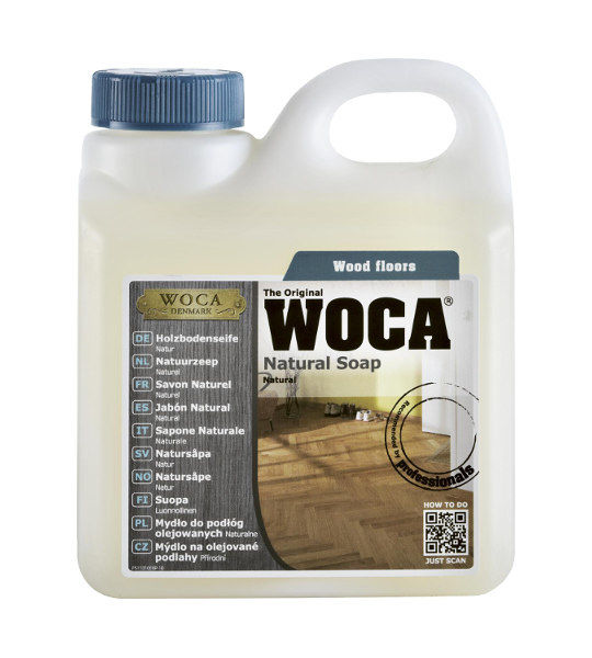 Woca Natural Soap Oiled Wood Floor Cleaner