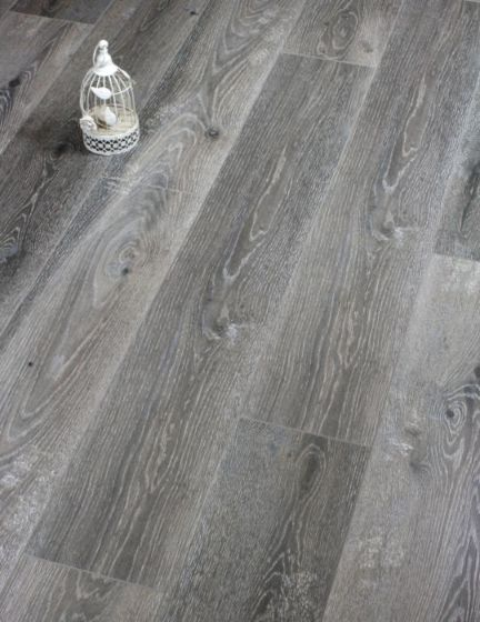 Real looking grey Laminate Flooring