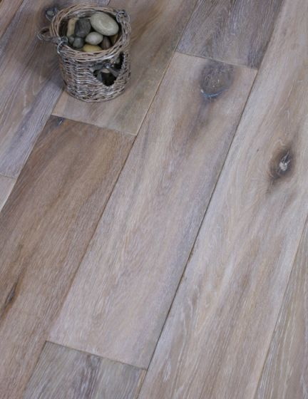 Reclaimed Grey Engineered Wood Flooring