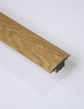 1m Solid Oak T bar