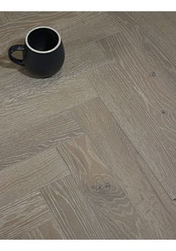 Grey Parquet Oak Floor Cormack