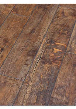 12mm Rustic brown lamiante flooring